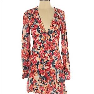 FREE PEOPLE- FLORAL DRESS- 4